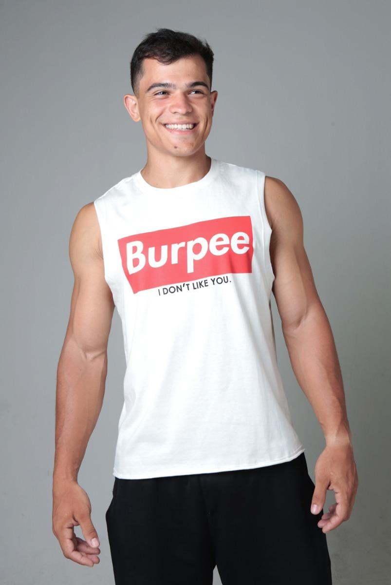 bcc5ed9c4 camiseta cavada crossfit burpee. Carregando zoom.