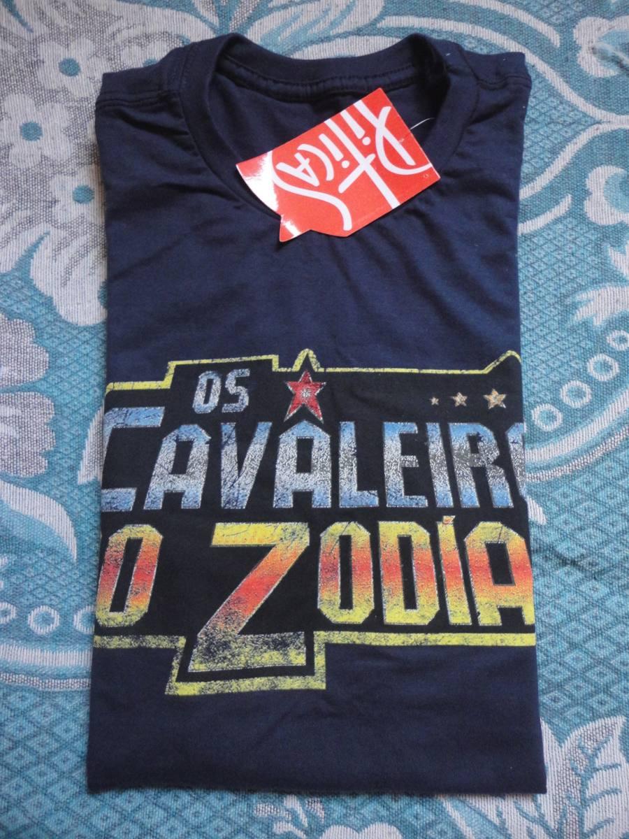 686364b89 camiseta cavaleiros do zodíaco piticas original nova. Carregando zoom.