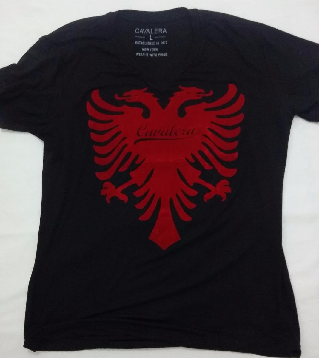 177a9251ab camiseta cavalera preta g. Carregando zoom.