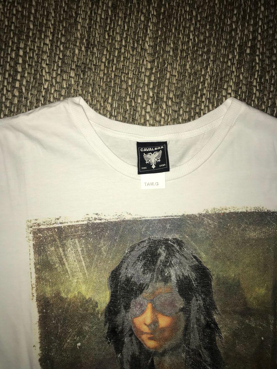 camiseta cavalera ramones monalisa punk rock. Carregando zoom. eb8e8d388b8