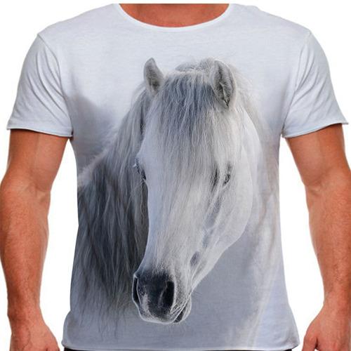 camiseta cavalo white winter masculina