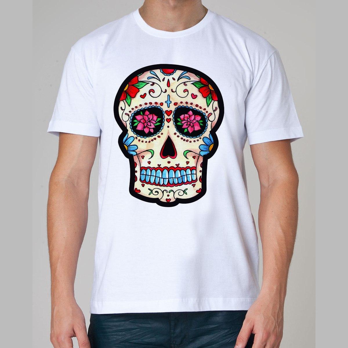 23487b081 Camiseta Caveira