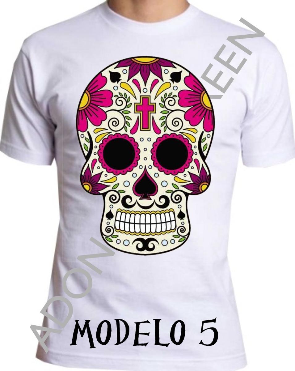 d474bb083 camiseta caveira mexicana m-5. Carregando zoom.