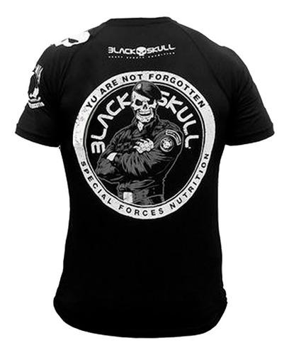camiseta caveira negra - black skull - original envio 24hrs