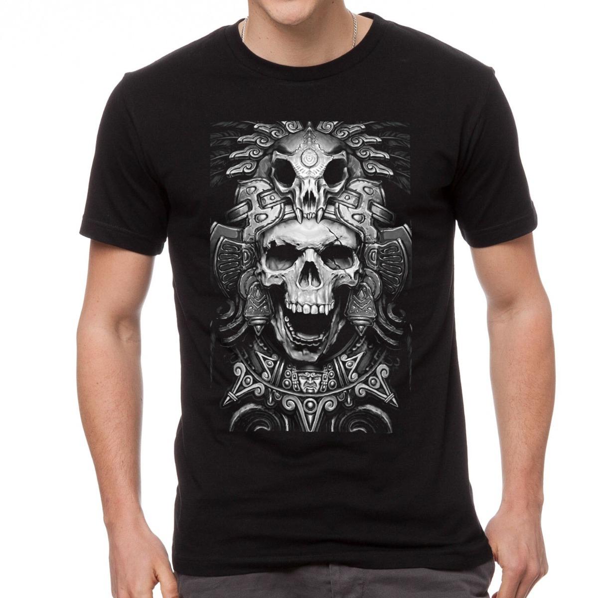 abd04c57a camiseta caveira skull estampada exclusiva masculina vintage. Carregando  zoom.