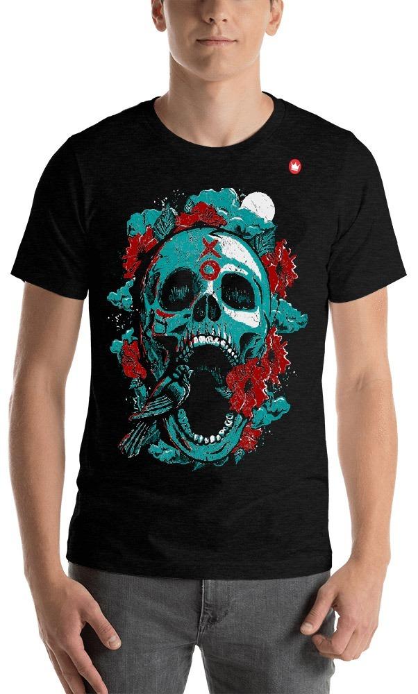 548216cf3 camiseta caveira skull masculina vintage camisas exclusivas. Carregando  zoom.