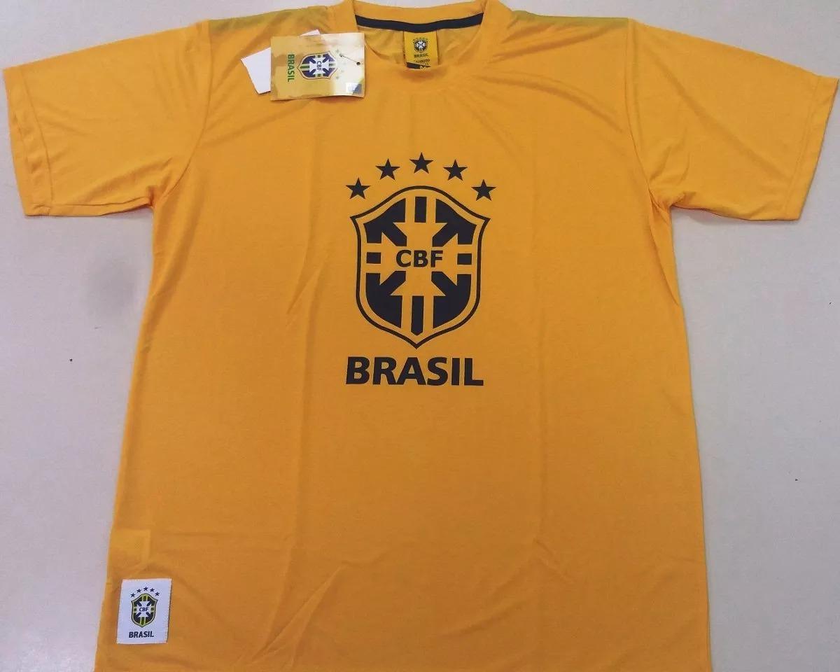 camiseta cbf oficial torcida seleção brasileira copa futebol. Carregando  zoom. b38012bfb2b58