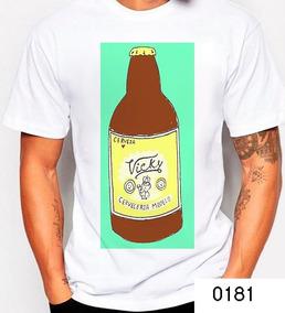Cerveza Camiseta Vicky Arte Caguama Beer VpqGSUzM