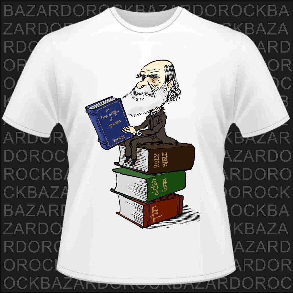 camiseta charles darwin - a origem das espécies. Carregando zoom. e5a1f23f224
