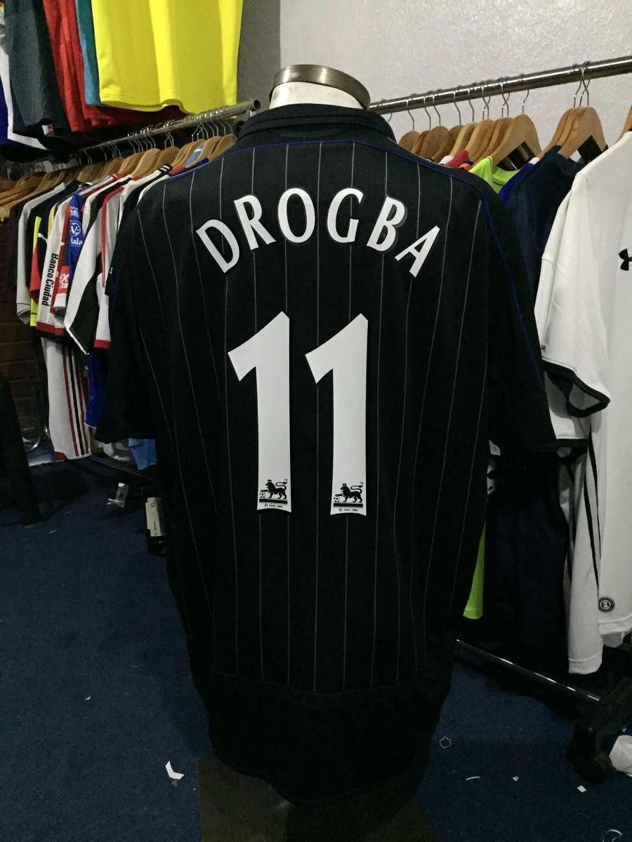 Camiseta Chelsea 2006 07 Drogba 11 9d35d2122a083