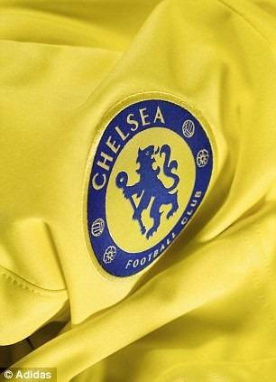 de4a51e87f camiseta chelsea visitante 2015 cuadrado no. 23 amarilla · camiseta chelsea  2015