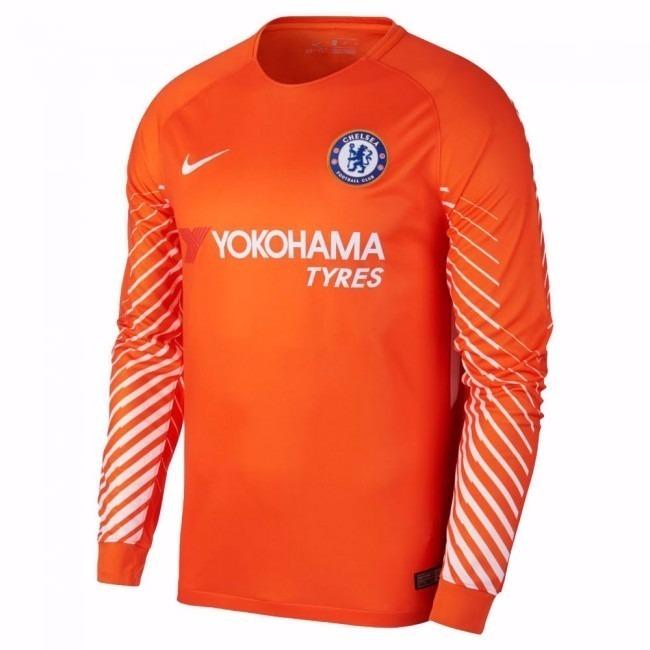 b106ae6471 Camiseta Chelsea Goleiro 2018 - Personalizada - R  85