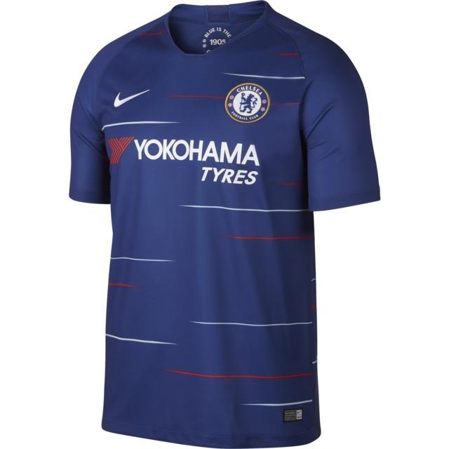 25f3e3e61cdb9 Camiseta Chelsea Titular Temporada 2018 2019 -   1.399