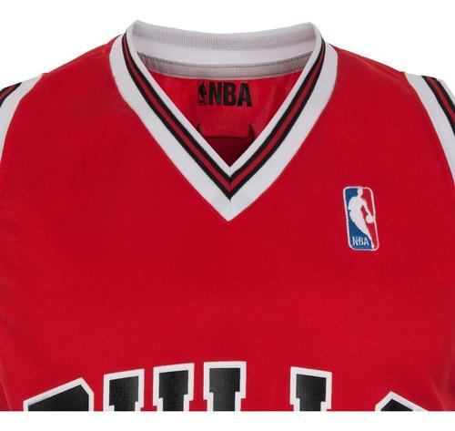 camiseta chicago bulls basquet licencia oficial nba athletic basket partido