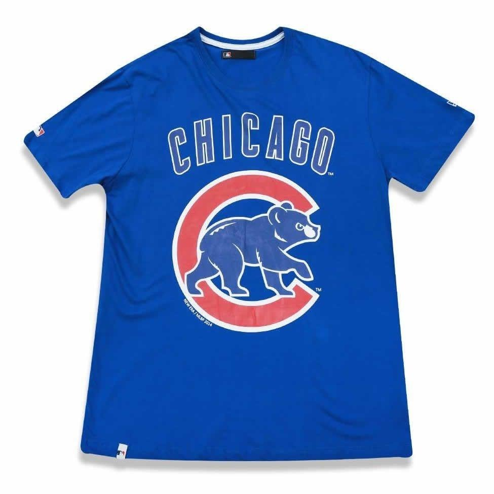 1a15c8b6d camiseta chicago cubs basic - new era. Carregando zoom.