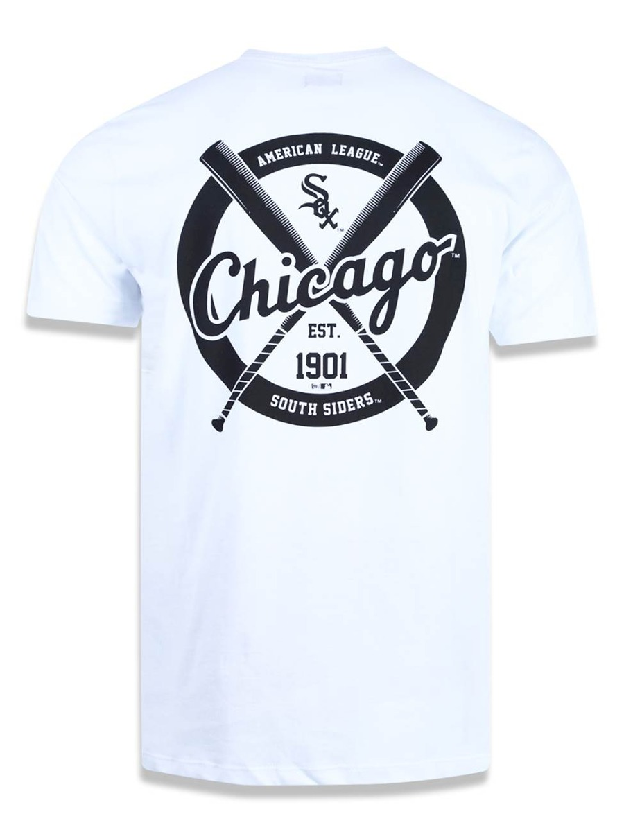 2a358cc221142 camiseta chicago white sox mlb new era 43131. Carregando zoom.