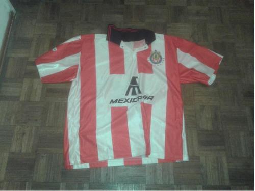 camiseta chivas guadalajara mexico 1998 arellano dt ferretti