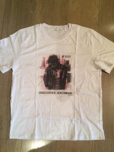camiseta christopher uckermann oficial original rbd rebelde
