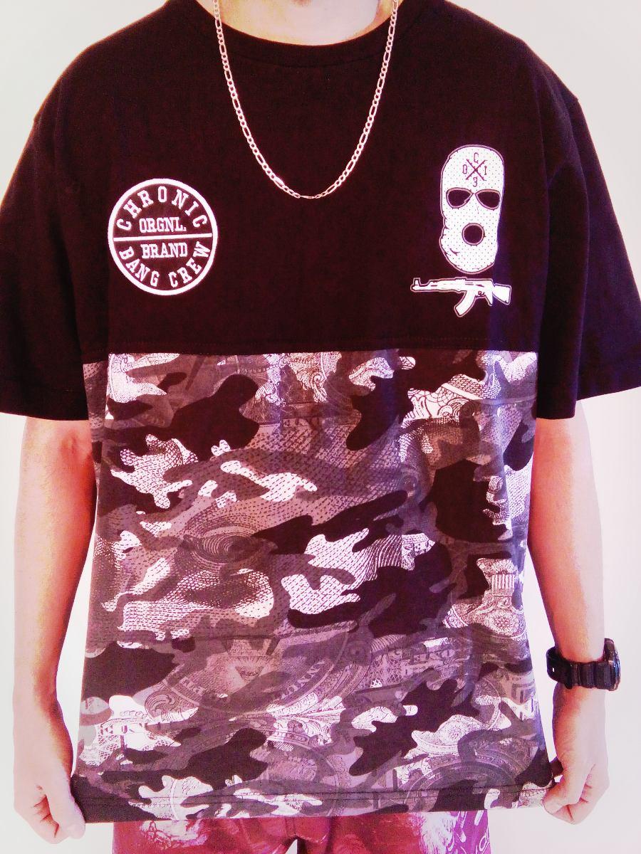 1a3c93ca6408b camiseta chronic 13 bang crew ninguém guenta (camuflada). Carregando zoom.