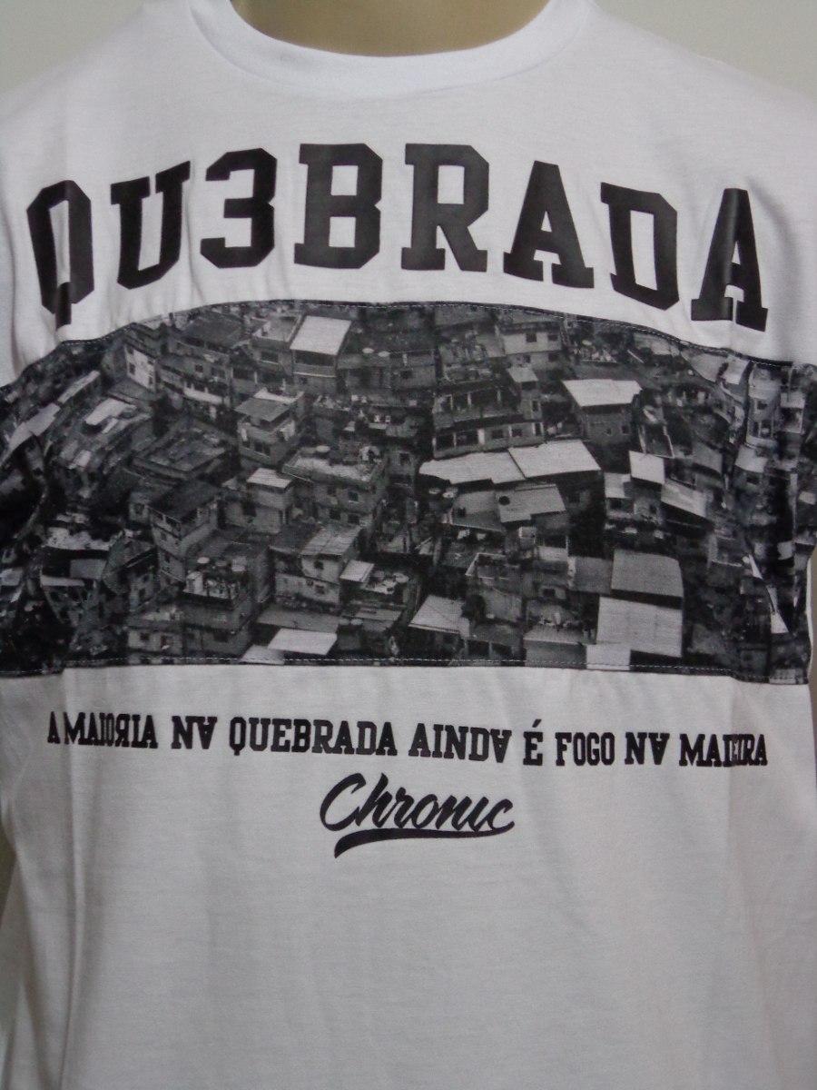 dec8c4544 Camiseta Chronic 4 20 Quebrada Crazzy Store - R  49