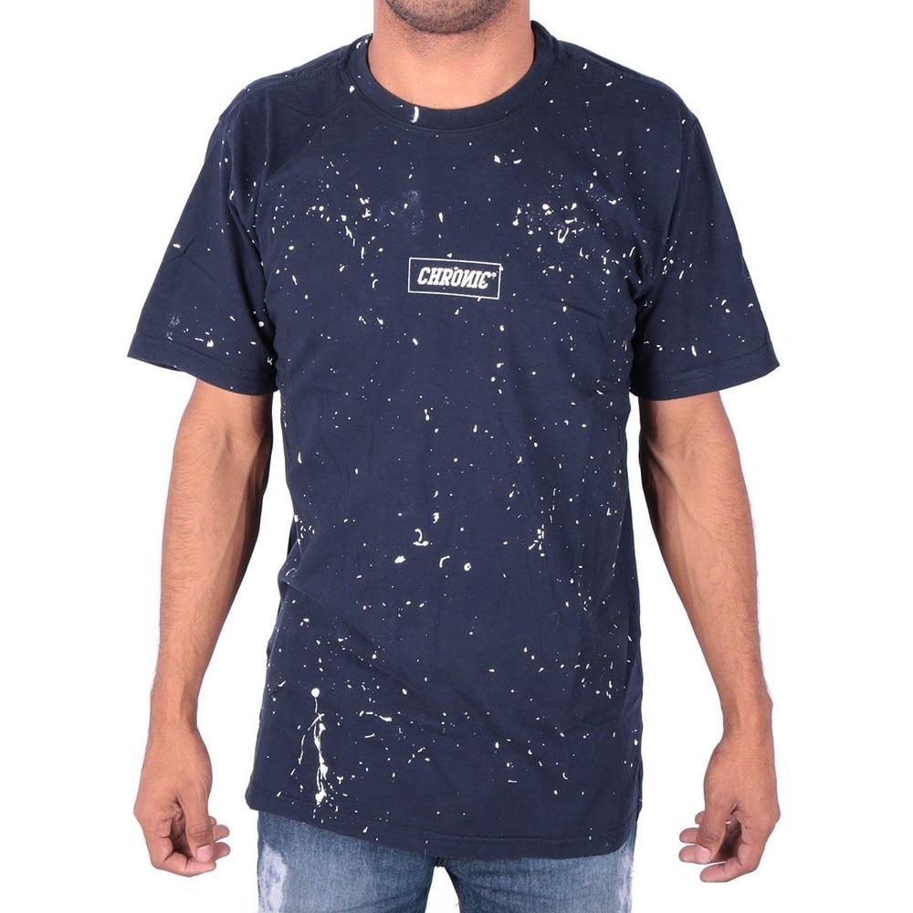 Camiseta chronic pingos de tinta pixo grafite azul carregando zoom jpg  1000x1000 Camiseta azul tinta verde 940af63f279e8
