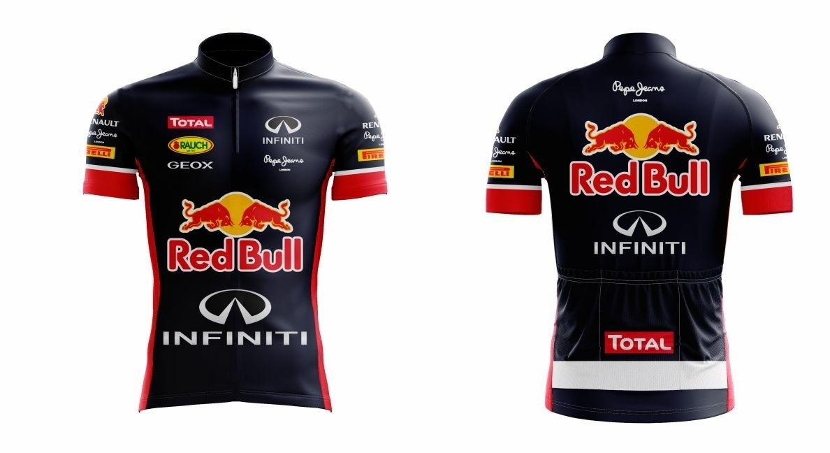 camiseta ciclismo masculina red bull c  proteção uv - scape. Carregando  zoom. 3e75e8d3b75