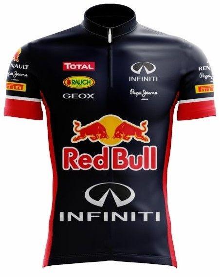 Camiseta Ciclismo Masculina Red Bull C  Proteção Uv - Scape - R  120 ... 267d71288da