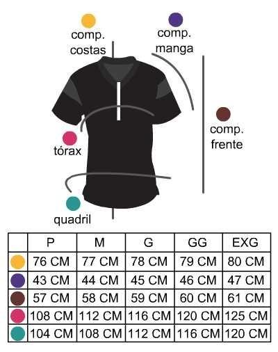 Camiseta Ciclismo Refactor Hive Laranja Masculina