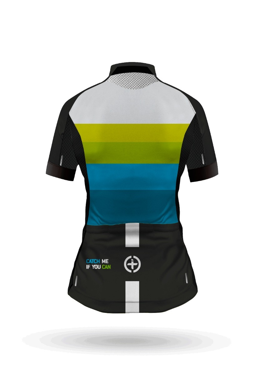7f31b464fd Camiseta Ciclismo Torralba Aeroxr Aqua Manga Corta Mujer -   139.000 ...