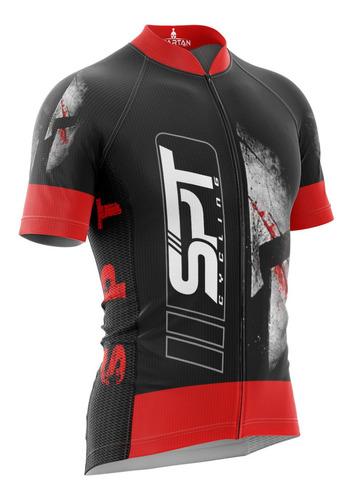 camiseta ciclista spartan w - ref 17 - (f) proteção uv50+