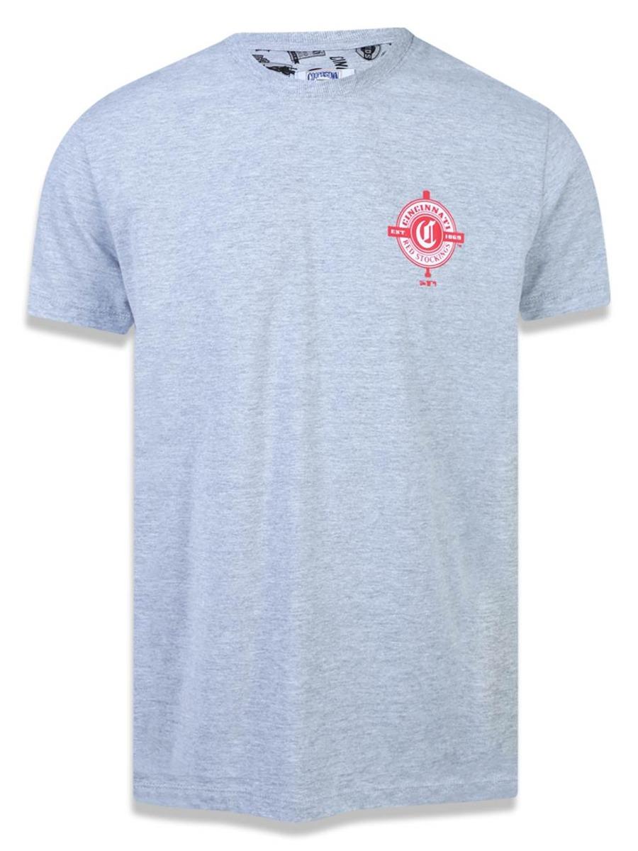 camiseta cincinnati reds mlb new era 43155. Carregando zoom. a223de4e37e