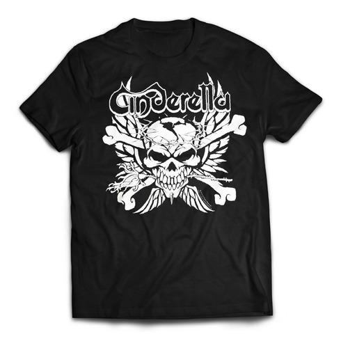 camiseta cinderella importada rock activity talla l
