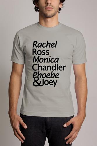 camiseta cinza friends série de tv