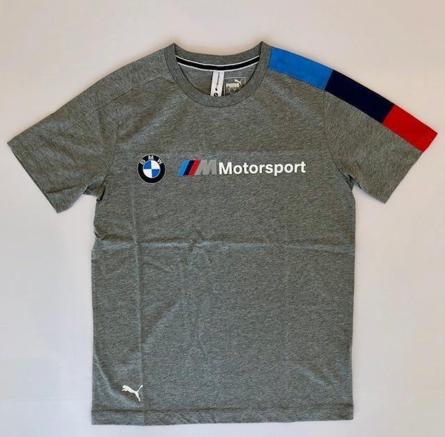 Camiseta Cinza Puma Bmw Motorsport T7 Tee - R  189 15e58714dfed1