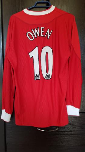 camiseta clasica liverpool 2002 - 04 # 10 m. owen home