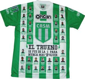 f34e3c9be Camiseta De Futbol Verde Y Blanca Clubes Ascenso - Camisetas en ...