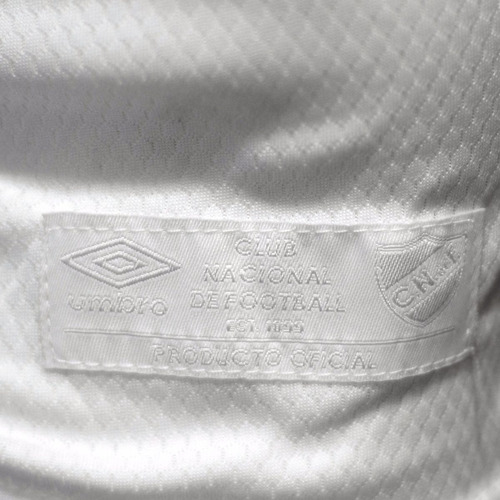 camiseta club nacional de football | umbro - blanca - 2017
