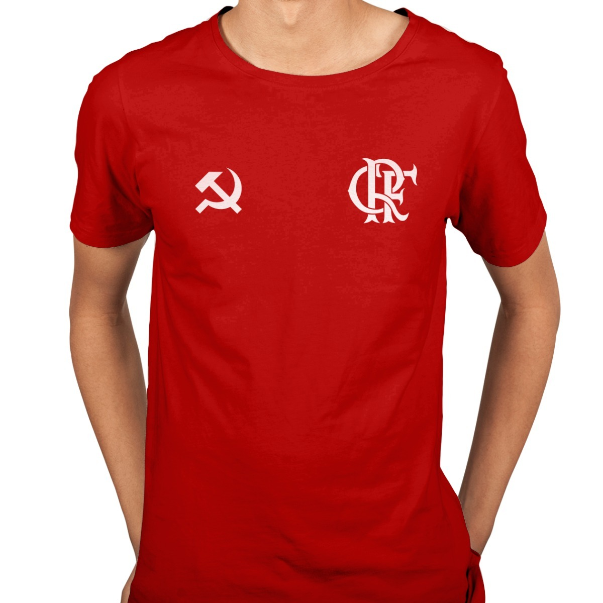 camiseta clube de regatas do flamengo comunista esquerda. Carregando zoom. fc35a2d55aca0