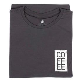 Camiseta Coffee - 100% Algodão - Unissex - Use Café