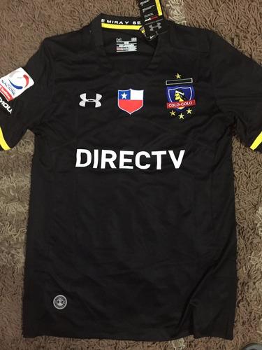 camiseta colo colo 2016 negra