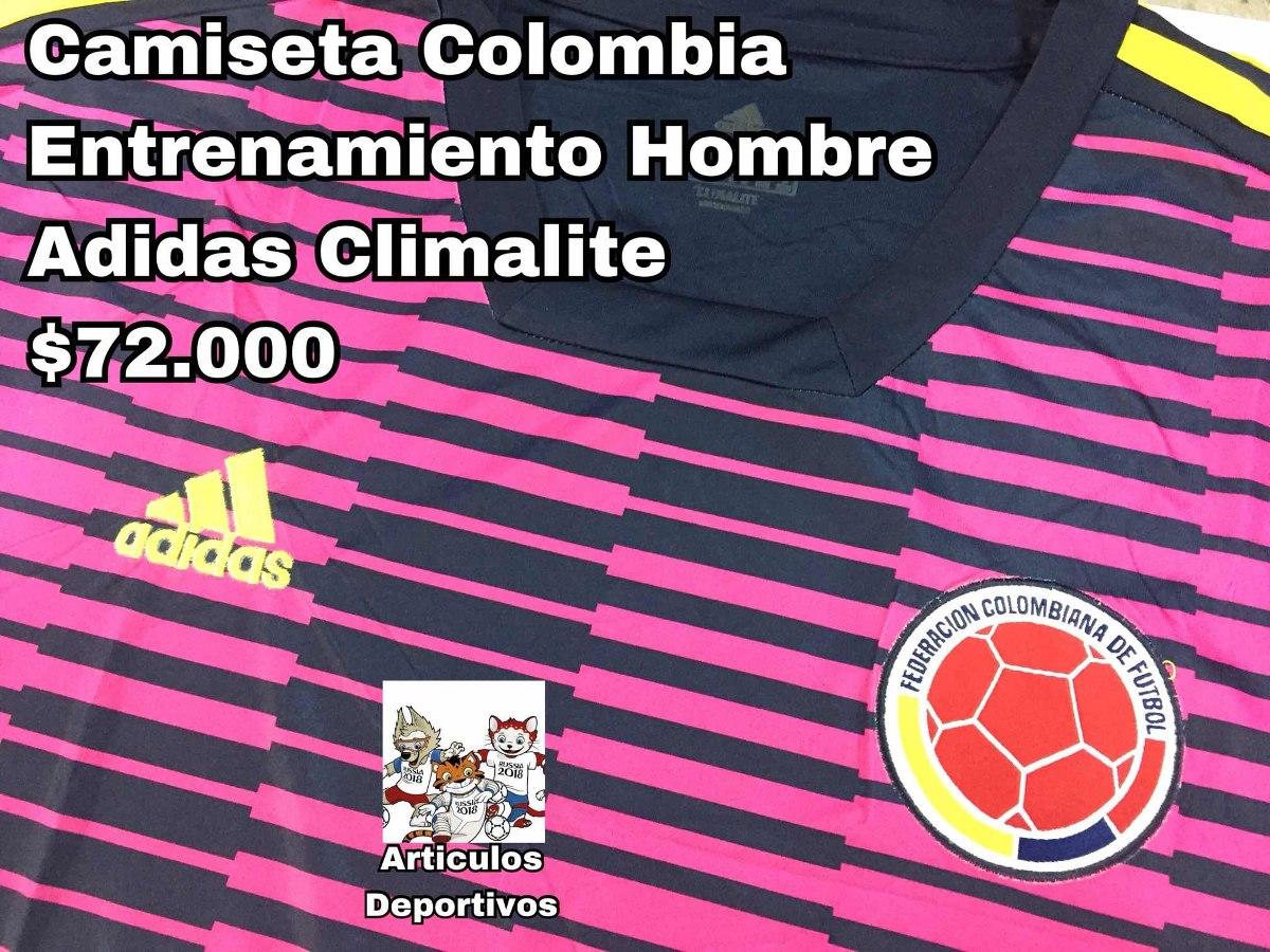 camiseta colombia 2018 entrenamiento pre partido adidas. Cargando zoom. e55cbf4ae10
