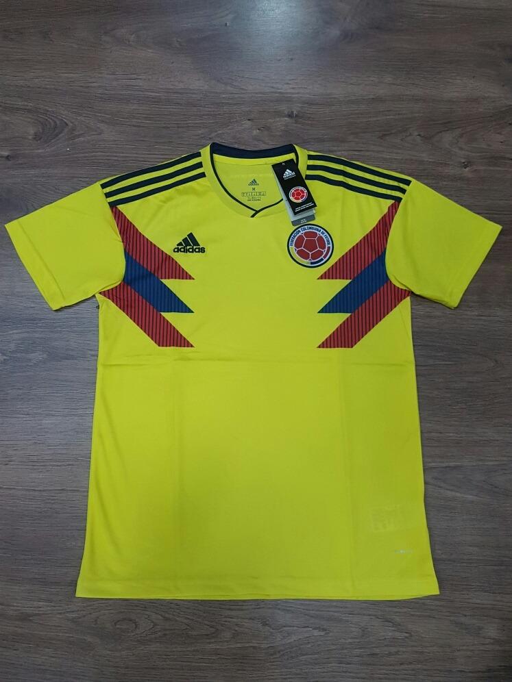Mujer Hombre Camiseta Original Colombia Adidas Y Wtwpq8r Climalite rIdq17Fd