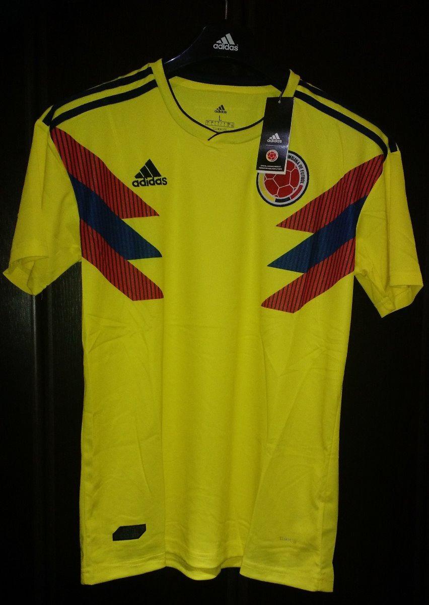 Camiseta Colombia Climalite Amarilla 06b682b1cbad2