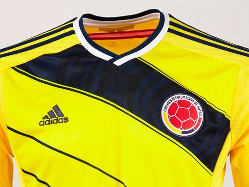 camiseta colombia hombre