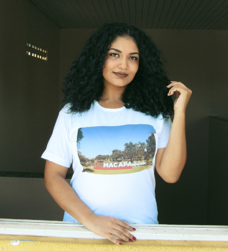 camiseta com foto impressa  macapá , manga curta