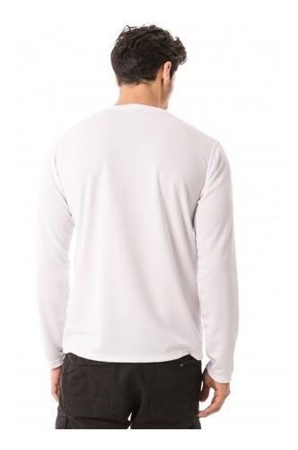 camiseta com proteção solar manga longa line dry extreme uv