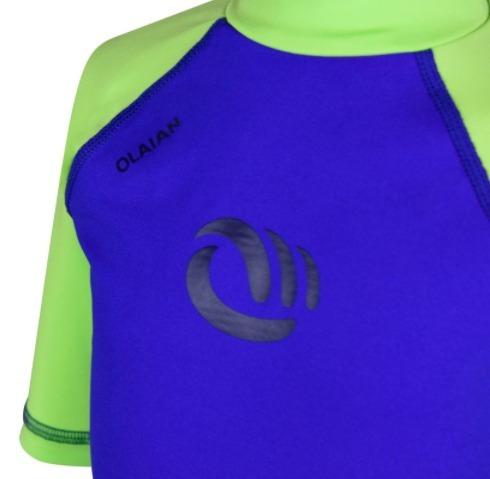 Camiseta Com Proteção Uv 50+ Infantil Proteção Solar Menino - R  79 ... 1916bbfb3c4