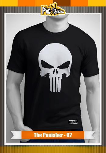 camiseta comic - the punisher marvel