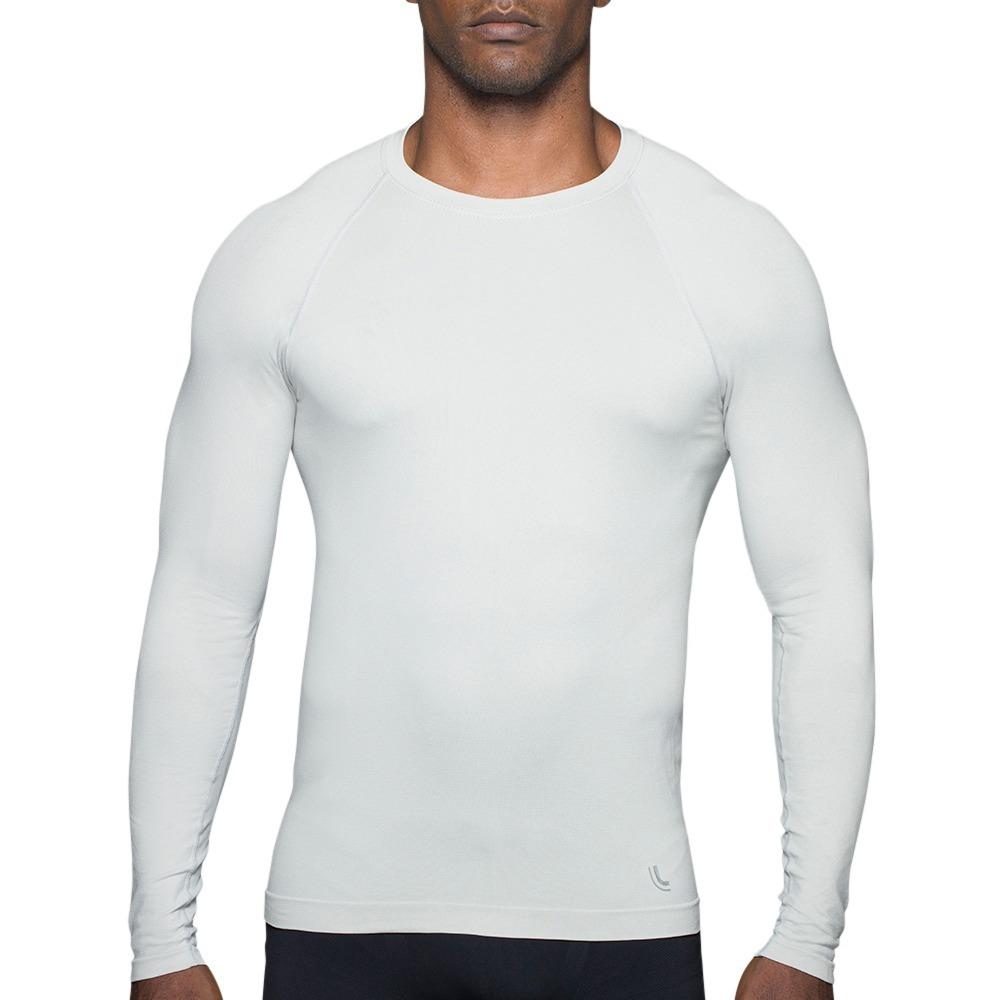 559ee86a0 camiseta compressão branca lupo 70632 uv 50+ segunda pele. Carregando zoom.