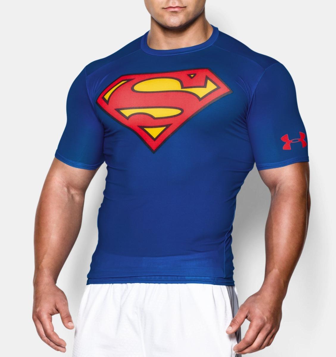 122c61d09b3 camiseta compressão under armour alter ego masculina supeman. Carregando  zoom.